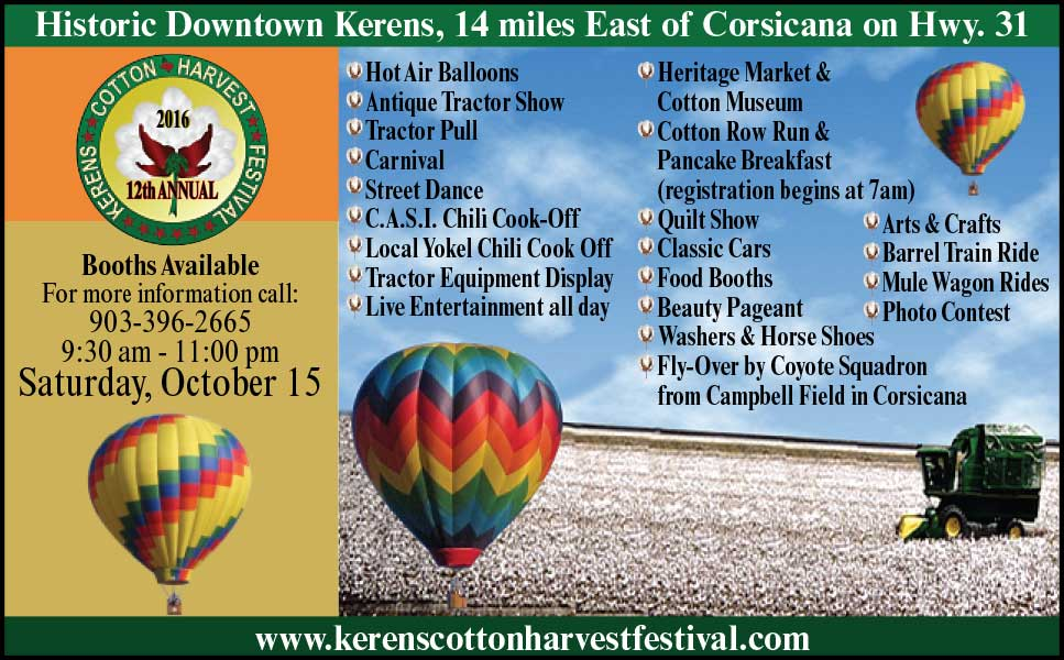 Kerens-Cotton-Festival-Flyer